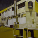 Northcote building / oil on board / 60 x 50 cm thumbnail