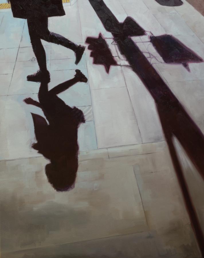 Queen Street Ground 02 / oil on canvas / 100 x 80 cm / 2020