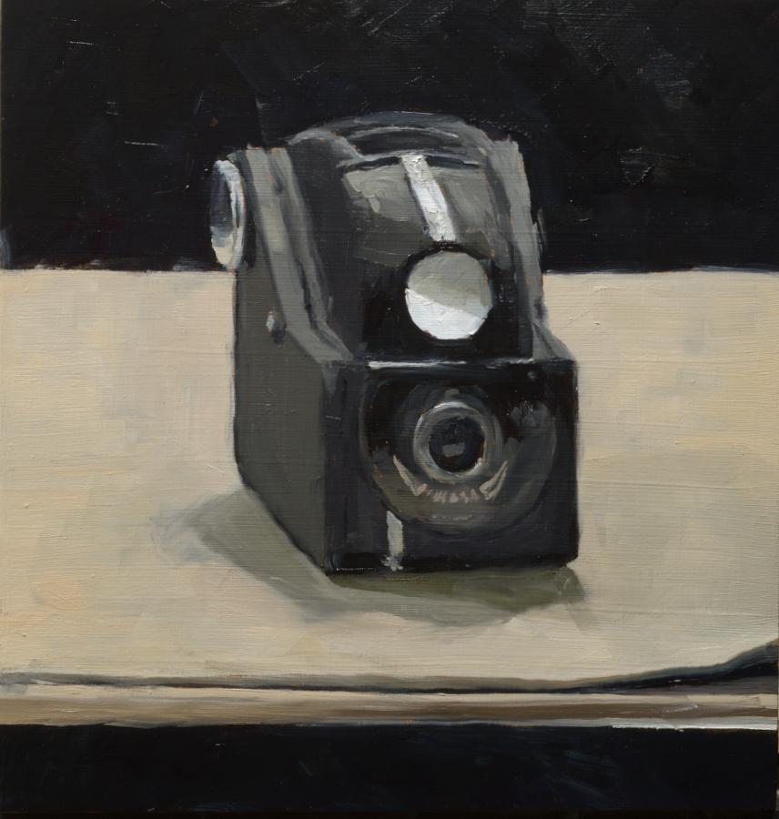 Camera / oil on board / 40 x 40 cm / 2020 / Private collection