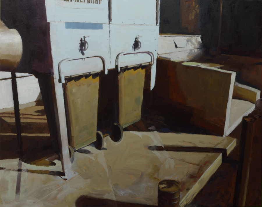 Dust Control / oil on canvas / 80 x 100 cm / 2020 / Private collection