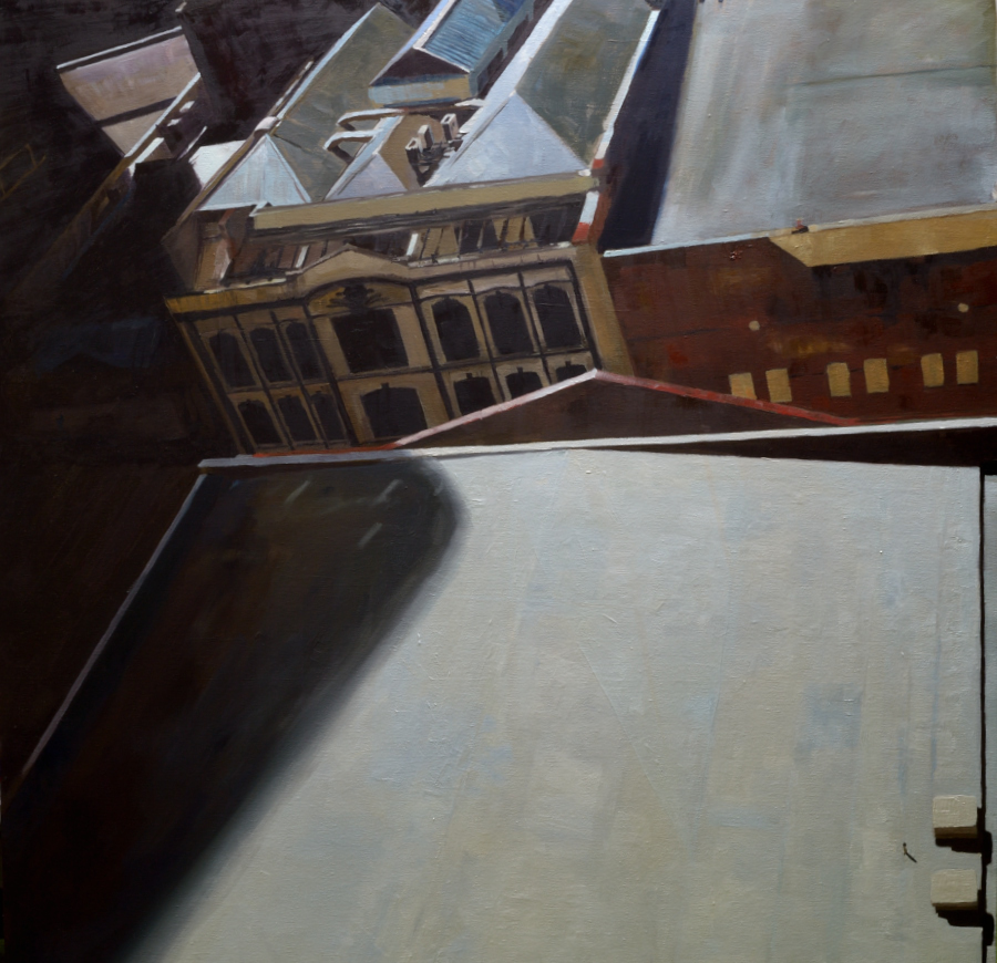 Elliott Street / oil on canvas / 120 x 120 cm / 2021 / Private collection